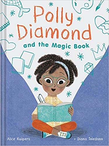 Polly Diamond and the Magic Book by Alice Kuipers