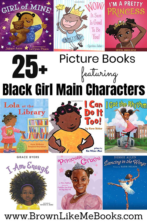 Black Girl Main Character Books for Kids