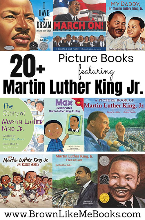 Martin Luther King Jr Picture Books for Kids