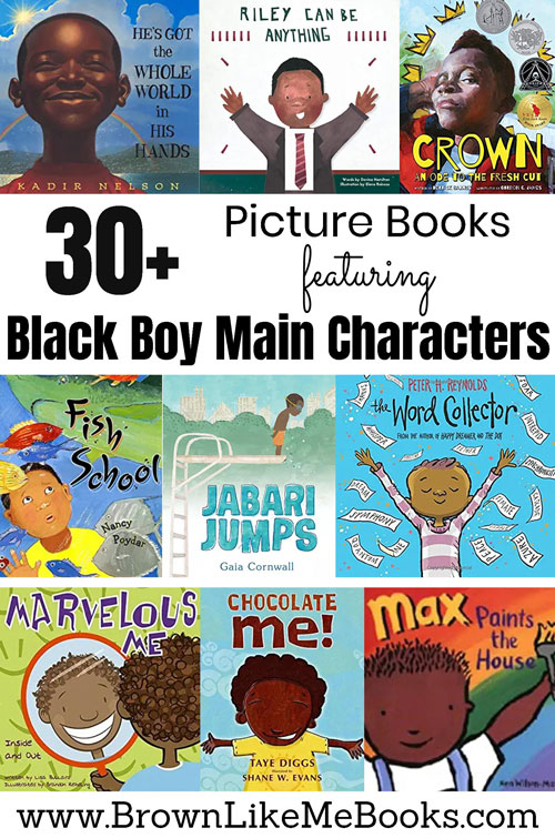 Black Boy Main Character Books for Kids