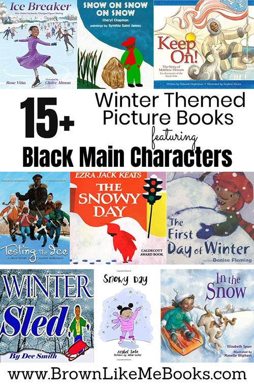 Winter Themed Black Character Picture Books for Kids