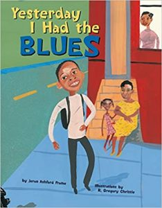 Yesterday I Had the Blues by Jeron Ashford Frame