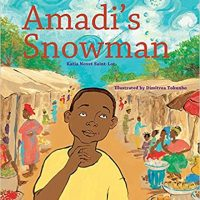 Amadi's Snowman by Katia Novet Saint-Lot