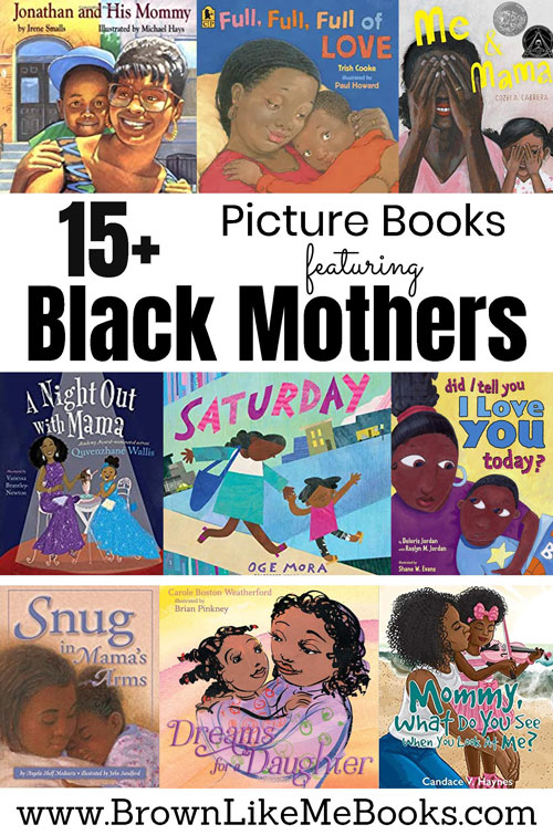 Picture Books for Kids featuring Black Mothers
