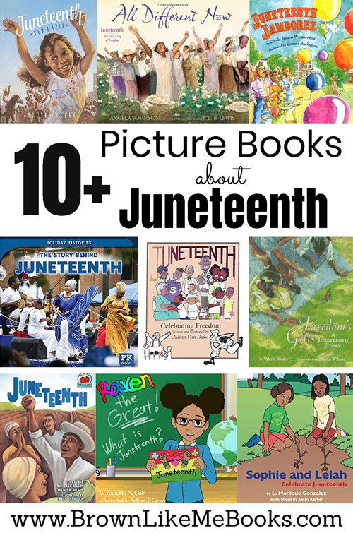 Picture Books for Kids about Juneteenth