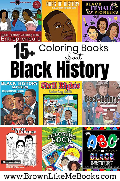 Coloring Books for Kids about Black History