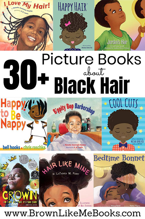Picture Books for Kids about Black Hair
